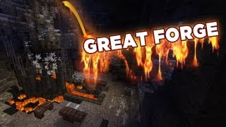 forge minecraft castle