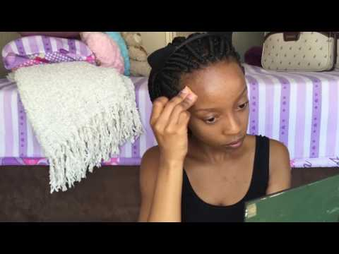 NO MAKEUP MAKE UP LOOK FOR ACNE PRONE SKIN | Nthabiseng Makena