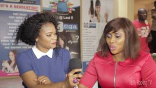 Queeneth Agbor interview with Nolly Rocking TV