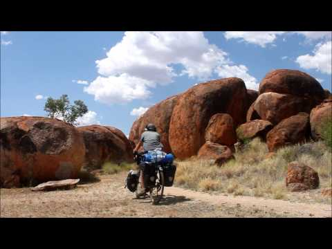 A Bike Ride Across Australia (Outback Bicycle Touring)