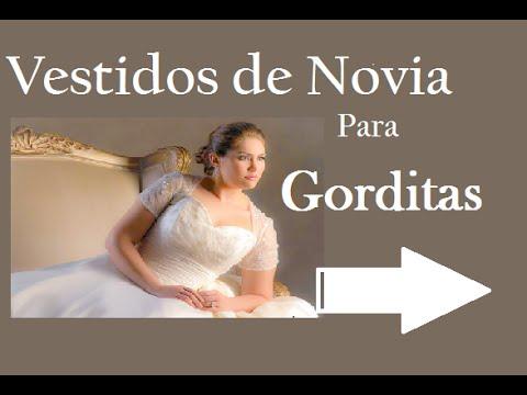 Vestidos de novia para mujeres bajitas y gorditas