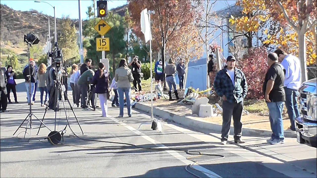 Paul Walker Crash Site Last Ride Video Footage YouTube