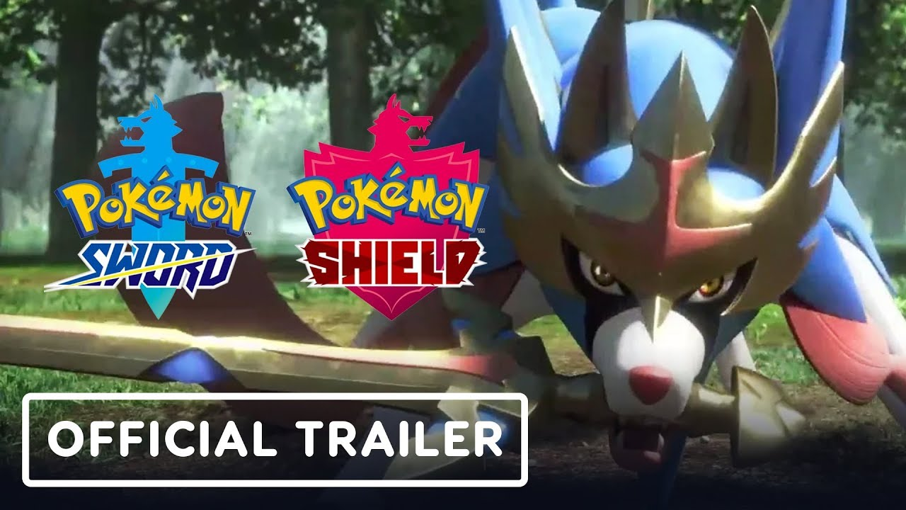 Pokemon Sword And Shield Trailer New Pokemon Legendaries Dynamax