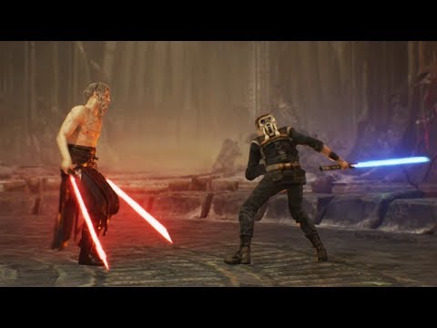 Taron Malicos the Rogue Jedi - Star Wars Jedi Fallen Order