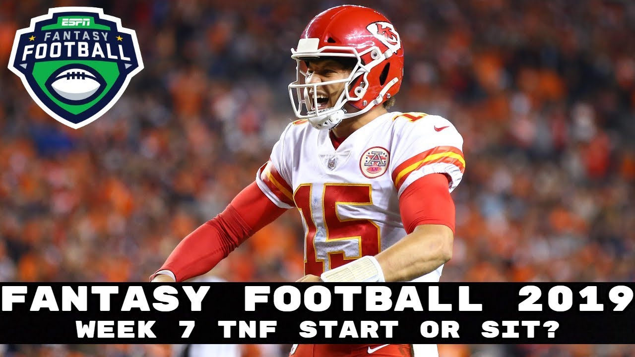 Thursday Night Football Fantasy Picks: Start 'Em, Sit' Em for Denver Broncos vs Kansas City Chiefs