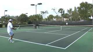 Dave wins a tennis game, and tests Panasonic HC-X900M HD camcorder in 1080/60p