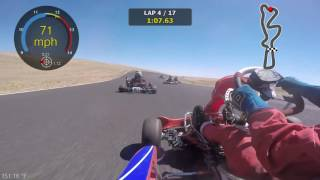Gold Cup Road Race 2016 @ ORP (Shifter Kart)
