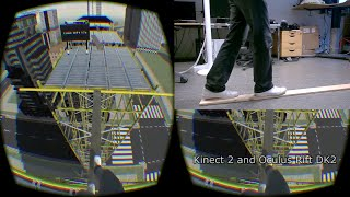 Vertigo: Kinect body-tracking and Oculus Rift DK2