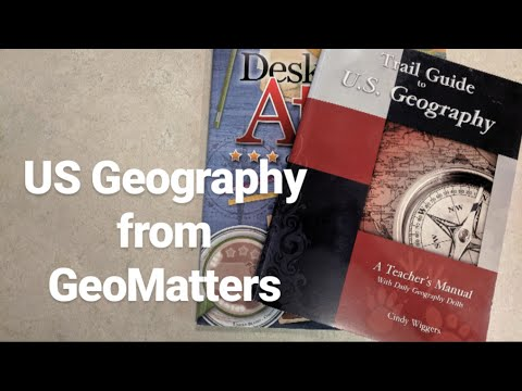 Homeschool Curriculum Flip Through: A Trail Guide To US Geography