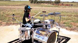 "HD Breaking Benjamin ""Breath"" Drum Cover by AUSTIN RIOS"