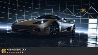 NFS No Limits: Koenigsegg CCX max PR & tuning unlock