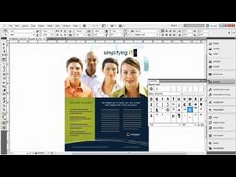 Adobe InDesign Tips : How to Insert Glyphs in InDesign