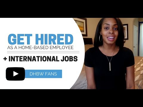 Employee-Based Work from Home + Open International Jobs