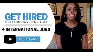 Employee-Based Work from Home + Open International Jobs