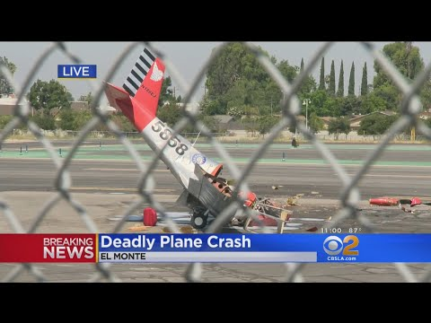 Small Plane Crashes Near El Monte Airport; 1 Dead