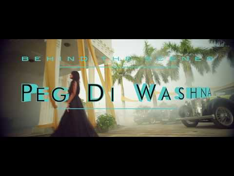 Behind The Scenes | Amrit Maan | Peg Di Waashna | Himanshi Khurana | Latest Punjabi Song 2018