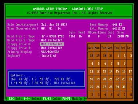 [TUTORIAL] - INSTALAR MS-DOS y JUEGOS en MESS PC/AT CT486