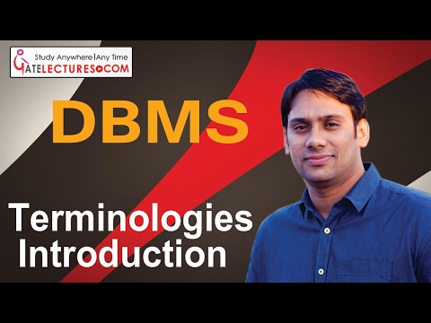 02 Terminologies Introduction DBMS