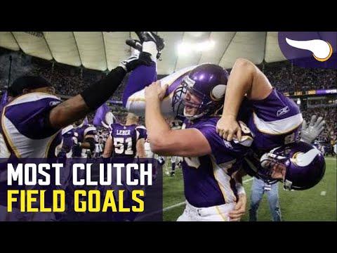 The Most Clutch Field Goal By Every Vikings Kicker