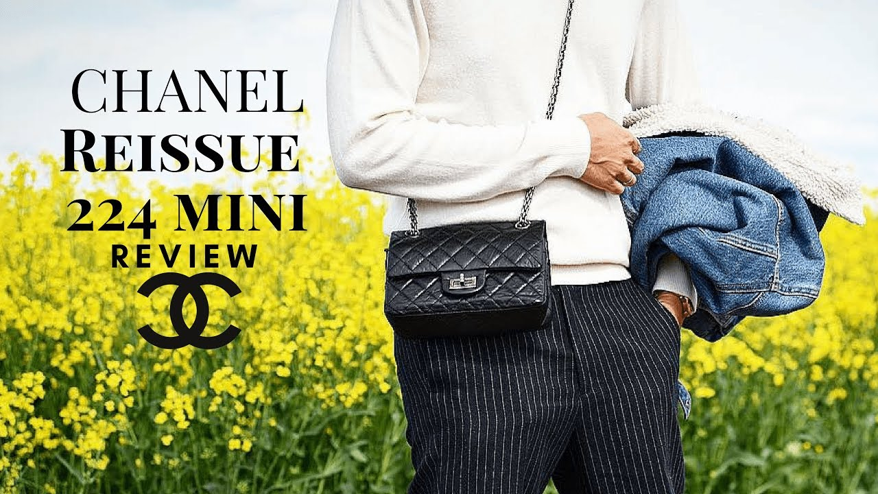 8be32588ad91 3-Month CHANEL REISSUE MINI/224 REVIEW | Yay or Nay? - YouTube