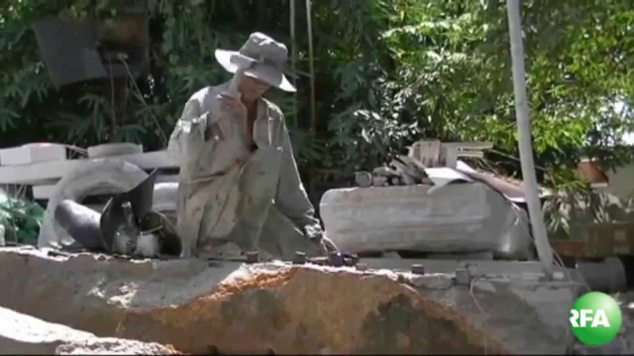 Nghề điêu khắc đá ở miền Nam