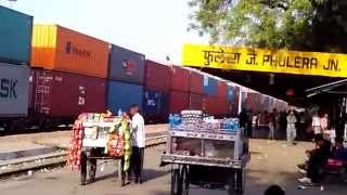 Double Decker Train | Double Stack Container Trains Phulera Video