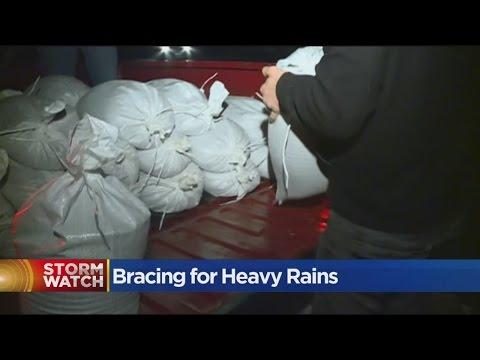 Olivehurst Residents Brace For Flooding On The Yuba River