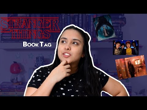 STRANGERS THINGS BOOK TAG | Cori loves Books