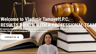 Vladimir Tamayeff P.C. : Top Rated Queens Personal Injury Lawyer, Free Consultation