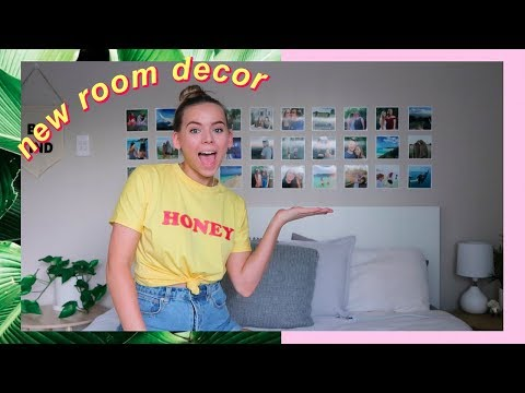 new room decor + shopping for strangers? | VLOG