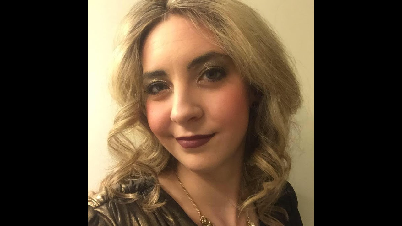 80 S Prom Look Makeup Hair And Outfit
