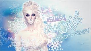 ❄⛄Mrs. Winter⛄❄ - CAS - The Sims 4 SEASONS -  +CC/MODY | Pani Zima - CAS 4 pory roku :)