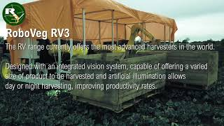 RoboVeg RV3 Harvester Specifications