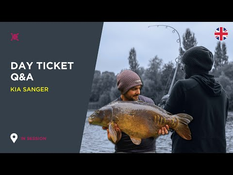 *** Day Ticket Carp Fishing Q&A- Kia Sanger- Linear Fisheries ***