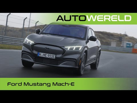Knallen met de elektrische Ford Mustang Mach-E (2021) review met Stéphane Kox   RTL Autowereld test