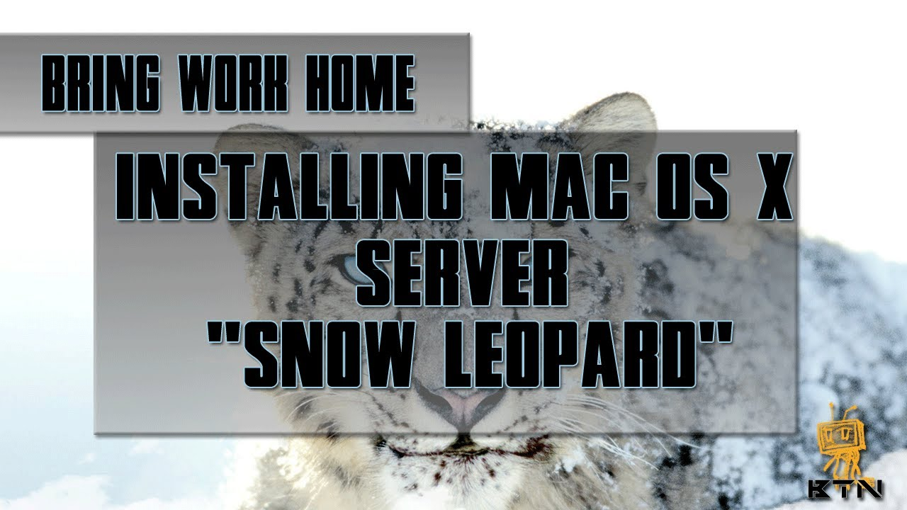 bring work home installing snow leopard os x server on external hard drive bring work home