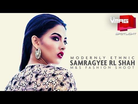 Samragyee RL Shah wears MODERNLY ETHNIC | Schmitten SPOTLIGHT | VMAG