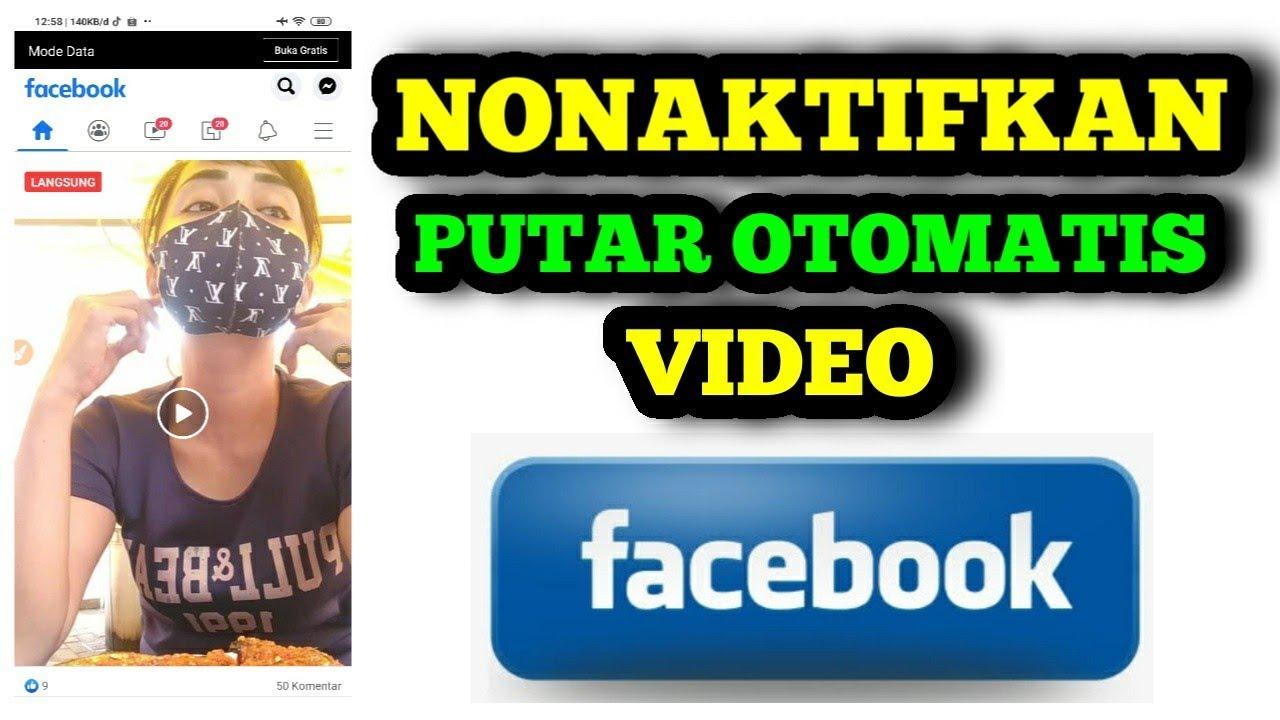 Video Putar Otomatis Di Facebook | Ini Solusinya