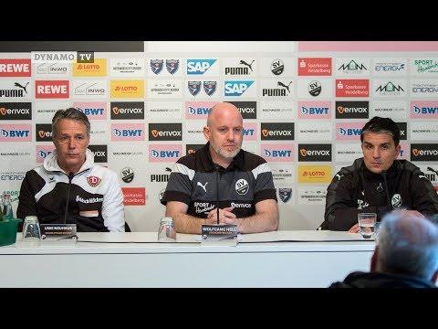 20. Spieltag | SVS - SGD | Pressekonferenz nach dem Spiel
