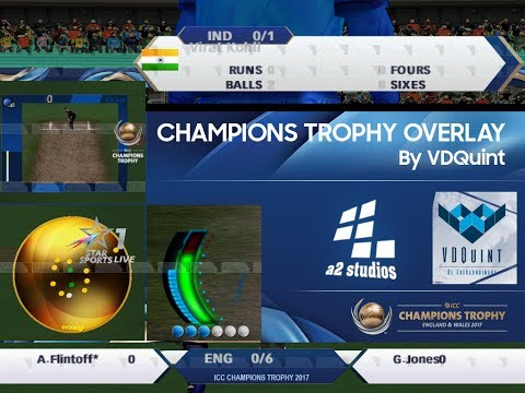 EA CRICKET 2017 ICC CRICKET 2017 CHAMPIONS TROPHY PATCHGAMEPLAY