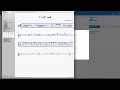 How to use Musescore to arrange and transpose a tune