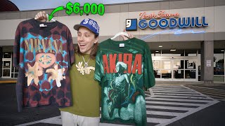 I Sold These Vintage Shirts For $6,100 In This Trip To The Thrift! Come Thrift With Me!