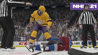 NHL 21 BE A PRO #11 *RUSTY ENDS A CAREER*