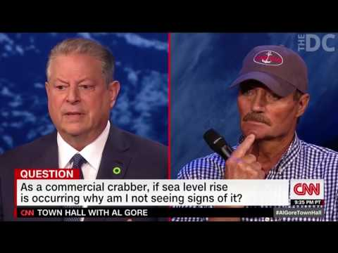 Al Gore's Bogus Response During Climate Change Town Hall