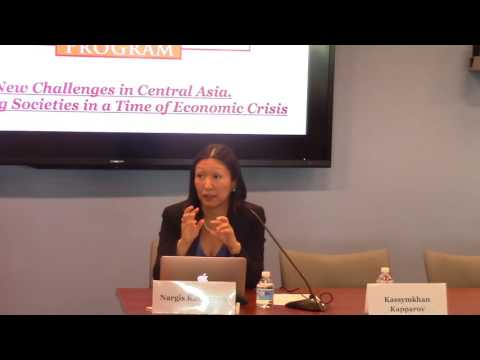 "Nargis Kassenova, ""Kazakhstan 2016: The Politics of Crisis"""