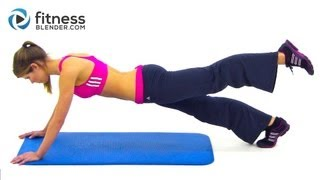 25 Minute Abs and Obliques Workout by FitnessBlender.com
