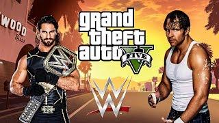 WWE Moves in GTA 5!