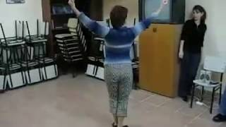Урок крымскотатарского танца  Джемиле Османова  Агьыр ава ве хайтарма (архив)