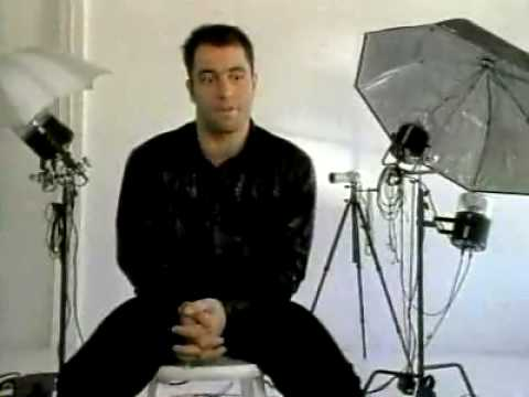 Joe Rogan spoofing fashion photographers