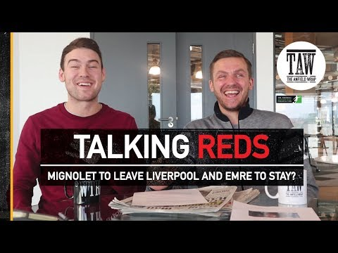 Talking Reds: Mignolet To Leave Liverpool And Emre To Stay?